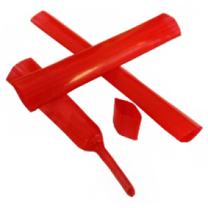 Teflon/PTFE Heat Shrink Tubing - HPTF size 6.4mm Red