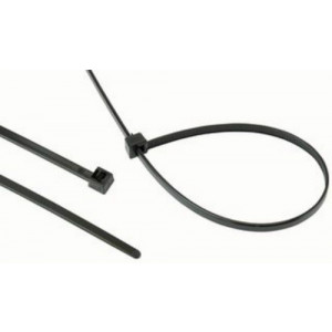 Hellermann RELK2L Polyamide Releasable Cable Ties Black 350mm x 4.6mm