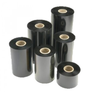 Premium CAB A4+M Printer Resin Ribbon for Heat Shrink Tubing - Black 40mm wide x 300 mtrs long