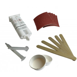 Epoxy adhesive kit