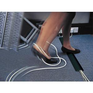 Snap Fit Flexible Cable Protectors - Black