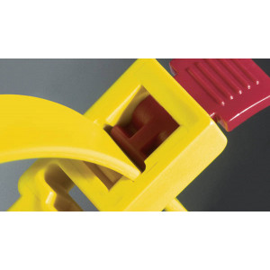 HellermannTyton Speedy-Click Speedy Cable Tie with quick release mechanism (RTT750HR)