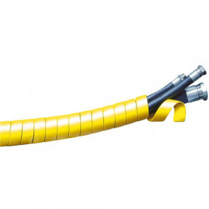 Spiralguard Yellow SGX-32Y HDPE Hydraulic Hose Wrap 27mm
