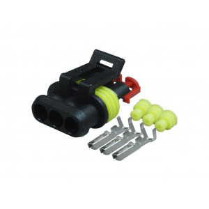 Superseal Connectors 3 Way Female Kit 1.5mm