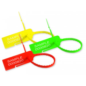 Tracewaste Tear-off Pull Through Seals - All Colours