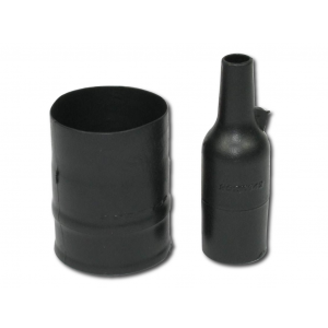 202K142-25-01-0 Heat Shrink Boot, Straight Lipped - Fluid Resistant Elastomer