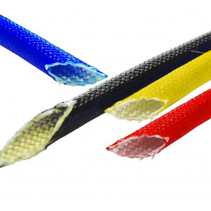 Vidaflex 942 - Braided 'E' Glass sleeving coated with Acrylic Resin