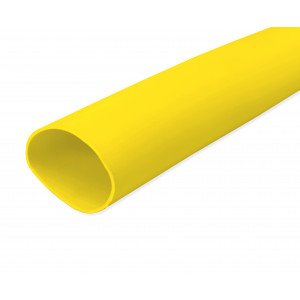 Yellow PVC Sleeving 20.0mm