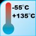 """RNF-100 size 1/8"""" (3.2/1.6mm) Premium Heat Shrink - Temperature"""