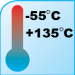 """RNF-100 size 1/16"""" (1.6/0.8mm) Premium Heat Shrink - Temperature"""