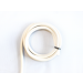 White Neoprene Tubing