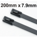 Stainless Steel Cable Ties Coated size 200 x 7.9mm