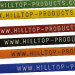 Printed Cable Ties with website