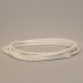 Spiral Binding White Cable Tidy 6mm