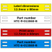 Various Colours Tip Tags / Tie on Markers