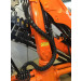 Black Hydraulic Hose Protection