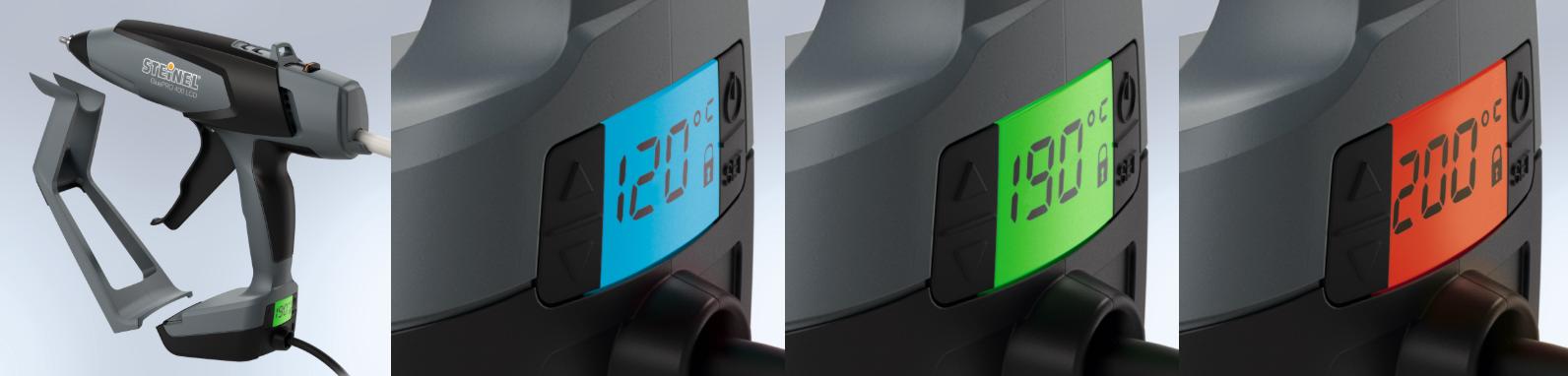 GluePRO 400 LCD Temperature Control