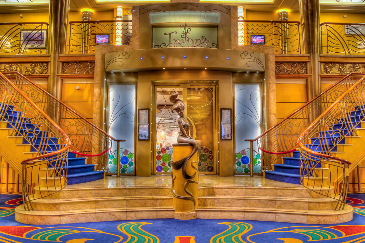 Disney Wonder Interior